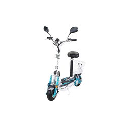 eFlux E-Bike Street 40 Elektroroller, 800 W, E-Scooter mit Straßenzulassung