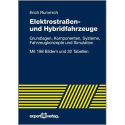 Elektrische Straßen- und Hybridfahrzeuge als Buch von Erich Rummich