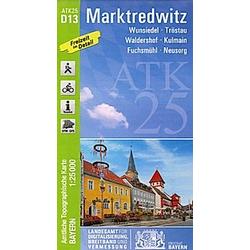 Amtliche Topographische Karte Bayern Marktredwitz - Buch