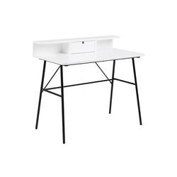 ebuy24 Schreibtisch Pasa Schreibtisch mit 1 Schublade und 1 Ablage in