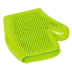 Nobby Massagehandschuh Vollgummi grün