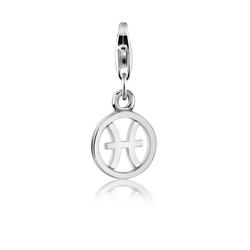 Nenalina Charm-Einhänger Löwe Sternzeichen Anhänger Horoskop 925 Silber