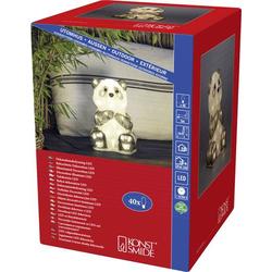 Konstsmide 6284-103 Acryl-Figur Pandabär LED Klar