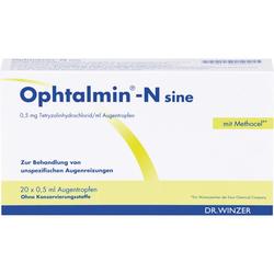 OPHTALMIN-N sine Augentropfen EDB 10 ml