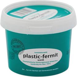 Fermit Dichtungsmasse plastik fermit, weiß, 1 / 2 kg Dose