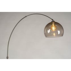 Stehleuchte Modern Retro Glas Edelstahl Kunststoff Kunststoffglas 30801