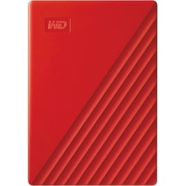 Western Digital My Passport 4TB USB 3.0  rot (WDBPKJ0040BRD-WESN)