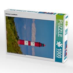 Amrumer Leuchtturm Lege-Größe 48 x 64 cm Foto-Puzzle Bild von Angela Dölling, AD DESIGN Photo + PhotoArt Puzzle