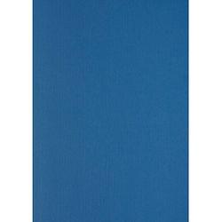 100 LMG Rückwände für Bindemappen Leinenstruktur blau