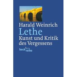 Lethe als Taschenbuch von Harald Weinrich