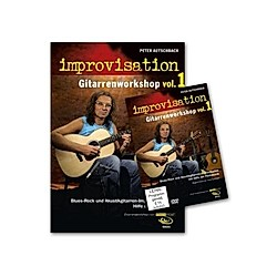 improvisation - Gitarrenworkshop  m. DVD. Peter Autschbach  - Buch