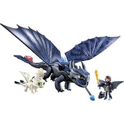 Playmobil® Dragons Ohnezahn und Hicks mit Babydrachen 70037