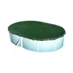 Pool Abdeckung Achtform 855 x 500cm