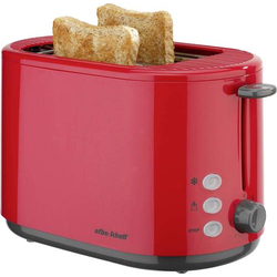 EFBE Schott SC TO 1080.1 ROT Toaster mit Brötchenaufsatz Rot