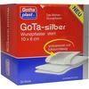 Gothaplast GoTa Wundpflaster silber steril 10 x 6 cm 50 St.