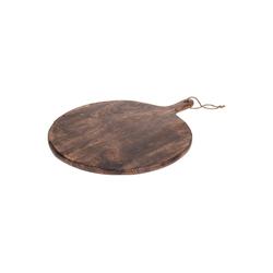 HTI-Living Servierbrett Servierbrett Oval, Holz