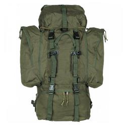 MFH Trekkingrucksack Rucksack, Alpin 110, oliv, 2 abnehmbare Seitentaschen grün