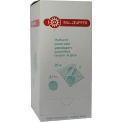 MULLTUPFER pflaumengroß steril 50 St