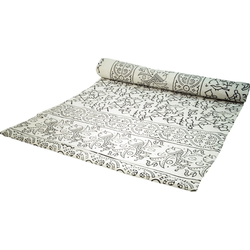Tagesdecke Blockdruck Tagesdecke, Bett & Sofaüberwurf,.., Guru-Shop 225 cm x 275 cm