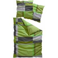 Linon grün (155x220+80x80cm)