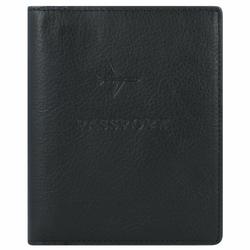 Fossil Etui na paszport RFID skórzana 11,5 cm black