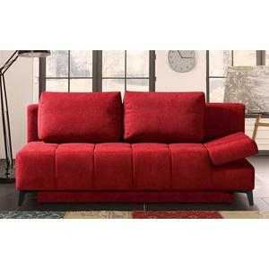 Restyl Querschläfer Tabby in rot, mit Bettkasten