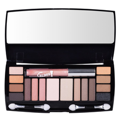 GLOSS! Make-up Set 19-teilige, mit Lidschatten und Lipgloss