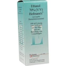 ETHANOL 70% V/V Hofmann's 100 ml