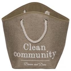 D&D Hundekorb Home Collection Pet Cave Laundry Bag braun