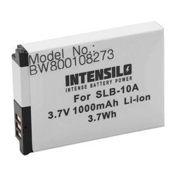 INTENSILO Li-Ion Akku 1000mAh (3.7V) für Kamera Camcorder Video Silvercrest Action Cam SCAA 5.00 A1 wie AT-S60, FJ-SLB-10a.