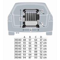 TRIXIE Transportbox Aluminium L-XL