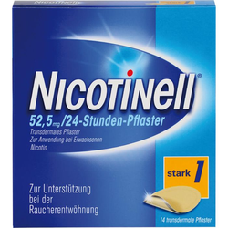 NICOTINELL 21 mg/24-Stunden-Pflaster 52,5mg 14 St.