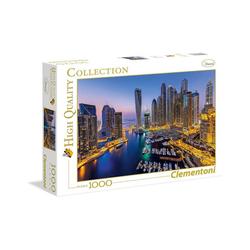 Clementoni® Puzzle Clementoni 39381 - High Quality Collection - Dubai Puzzle, 1000 Teile, 1000 Puzzleteile