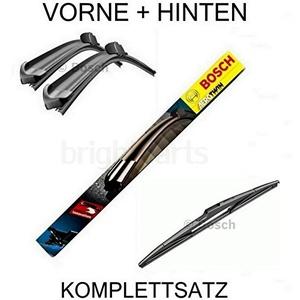 Bosch Aerotwin Scheibenwischer A116S und H840 vorn und hinten - Komplettsatz Scheibenwischer