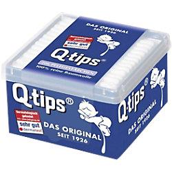 Q-tips Wattestäbchen 206 Stück