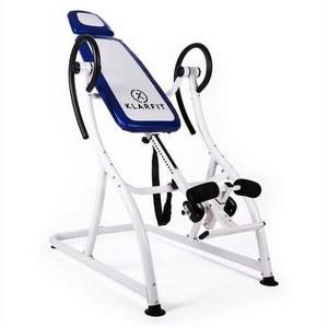 KLARFIT Rückentrainer Relax Zone Pro Inversionsbank Rücken Hang-Up 150 kg blau