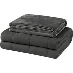 Gewichtsdecke, 0002ZLT, EUGAD, Gewichtsdecke 9 kg, 150 x 200 cm, Bezug: 100% Baumwolle