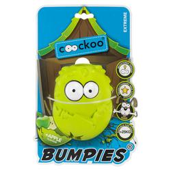 Coockoo Hundespielzeug Bumpies Apfel, Maße: 13 x 10,2 x 8,8 cm