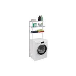 relaxdays Waschmaschinenumbauschrank Waschmaschinenregal Metall
