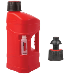 Polisport Benzinkanister ProOctane mit Schnelltanksystem, 10 L, Rot