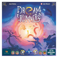 Board Game Box Spiel, Brettspiel Dream Runners
