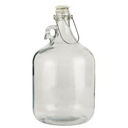 Ib Laursen Vorratsdose Glasflasche Bügelflasche Bügelverschluss Flasche Gallone 4600ml Laursen 0666-00