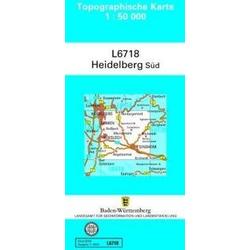 Heidelberg Süd  1 : 50 000