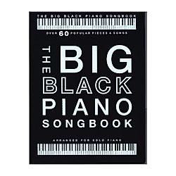 The Big Black Piano Songbook (Piano Solo Book) - Buch