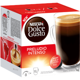 nescaf dolce gusto preludio intenso 16 kapseln ab 4 69 im preisvergleich. Black Bedroom Furniture Sets. Home Design Ideas