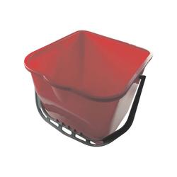 MEIKO Putzeimer, mit Ausgusslippe rot