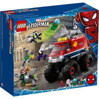 Lego Marvel Super Heroes  Spiderman Spider-Mans Monstertruck vs. Mysterio 76174