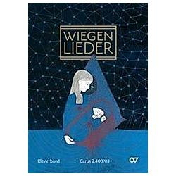 Wiegenlieder  Klavierband (für Singstimme und Klavier  Klavierpartitur) - Buch