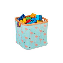 relaxdays Aufbewahrungskorb Stoff Aufbewahrungsbox Kinder
