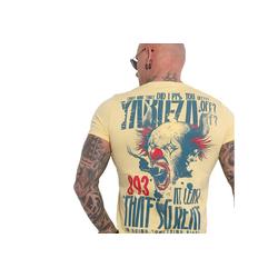 YAKUZA T-Shirt Piss Off gelb 5XL